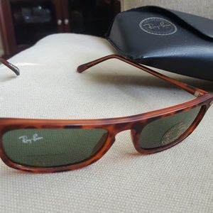 Vintage Ray Ban sunglasses with stickers